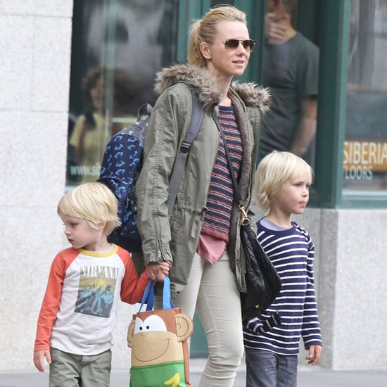Naomi Watts With Sons in NYC | Pictures
