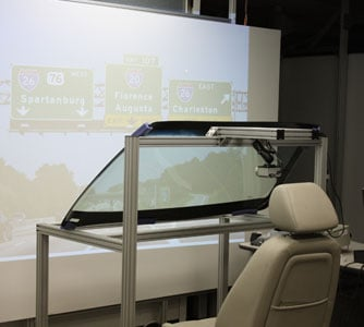 GM Testing New Augmented Reality HUD Display