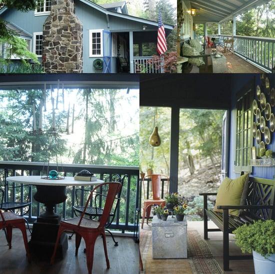 Casa Craving Recap:  Cozy Autumn Porch