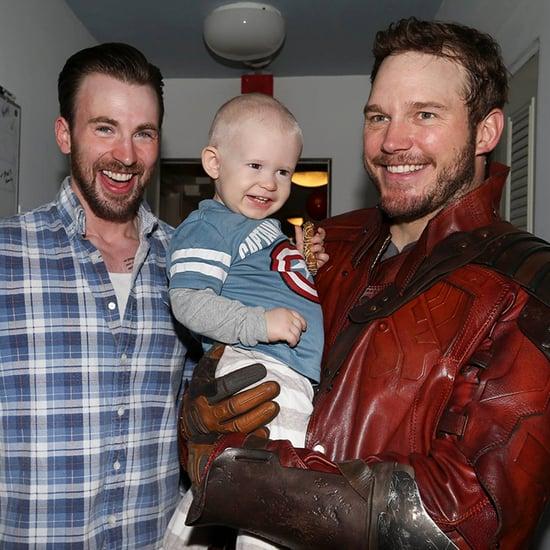 Celebrities Visiting Sick Children