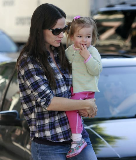 Pictures of Jennifer Garner and Seraphina