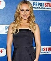 Hayden Panettiere's Black French Connection Dress