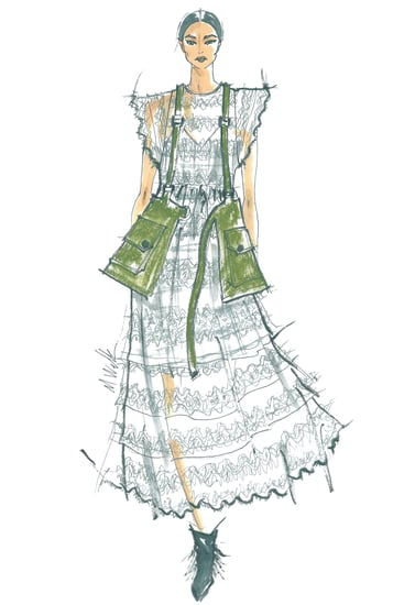 Designer Sketches From New York Fashion Week Spring 2016