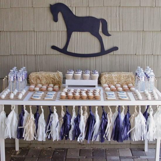 Vintage Horse Hoedown Baby Shower