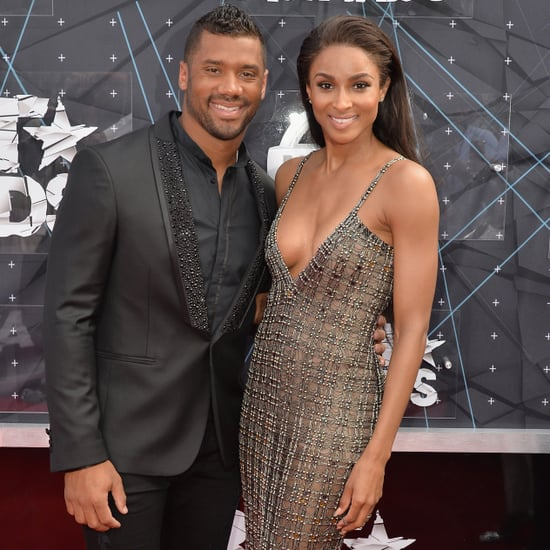 Ciara and Russell Wilson at BET Awards   Pictures