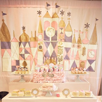 It's a Small World Birthday Party For Kids