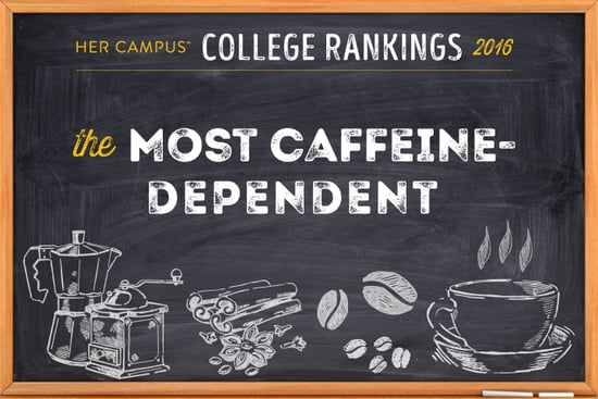 The Most Caffeine-Dependent Colleges