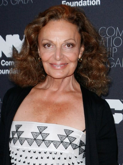 Diane von Furstenberg Recovering from Broken Nose After Ski Accident