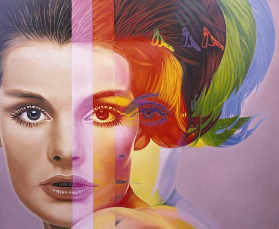 Richard Phillips's Art Sold at Intermix
