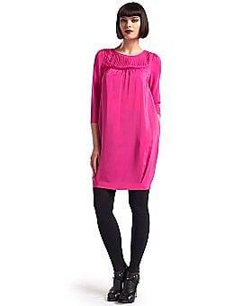 Loeffler Randall Pleated Yoke Dress -$199.00 @ eLUXURY