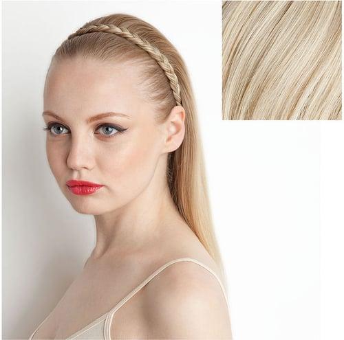 Amika Braided Headband, Champagne Blonde 1 ea
