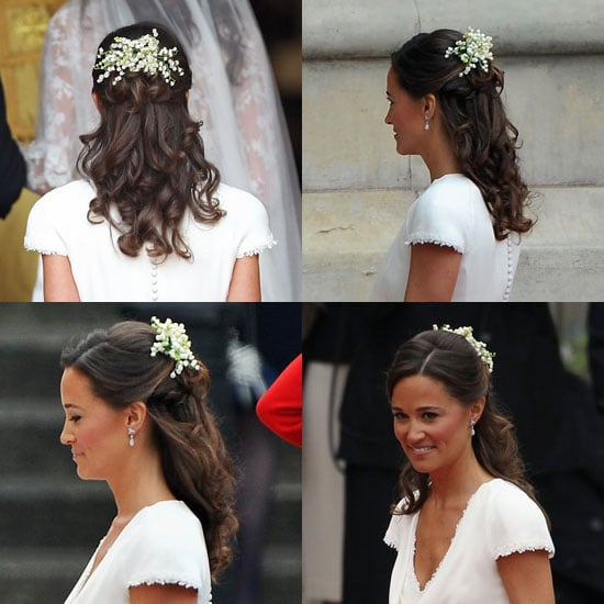 17 Wedding Hairstyles You Ll Adore: Pippa Middleton Royal Wedding Hair 2011-04-29 05:55:00