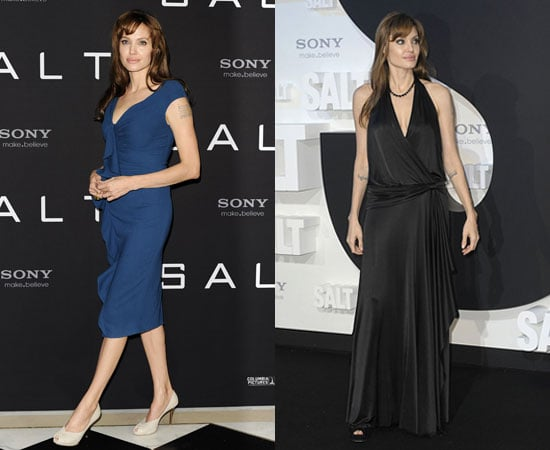 Pictures of Angelina Jolie at Salt Premiere and Photocall in Berlin Germany
