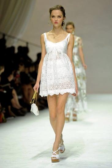 Spring 2011 Milan Fashion Week: Dolce & Gabbana