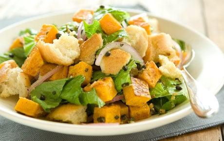 Fast & Easy Dinner: Butternut Squash Panzanella