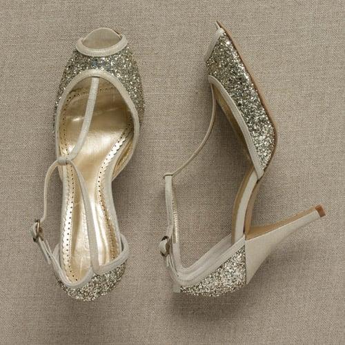 Fabworthy: J.Crew Antonia Glitteri T-Strap Heels