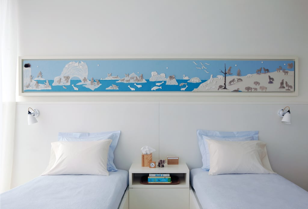 A Cool and Serene Bedroom