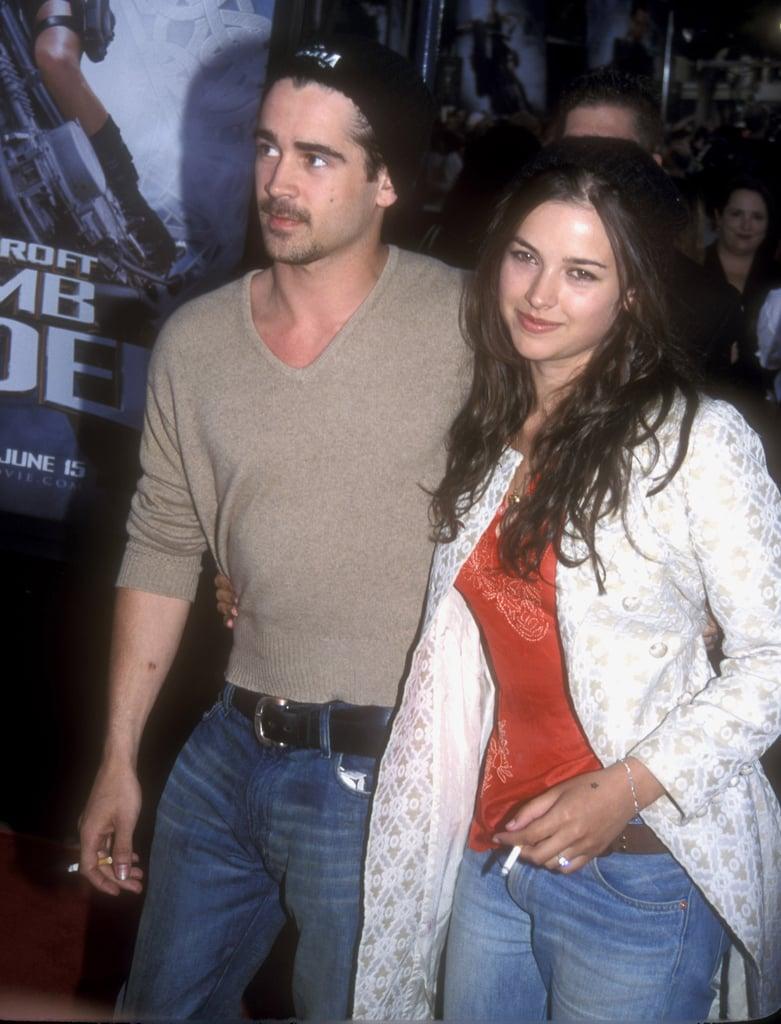 Colin Farrell and Amelia Warner
