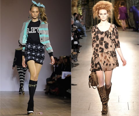 Photos of My Top London Fashion Week Shows from Autumn 2010