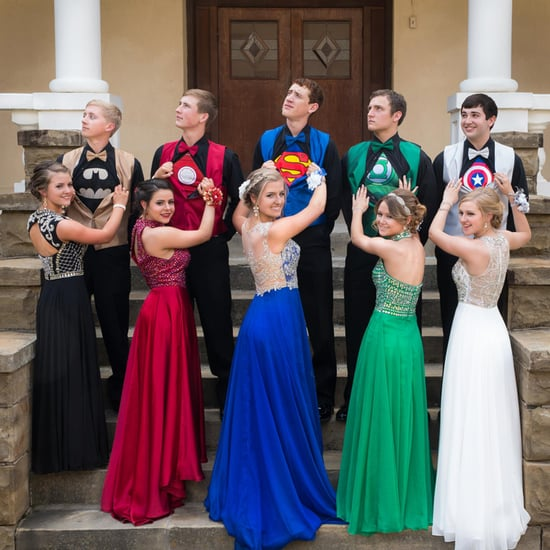 Superhero Prom Outfit Photo