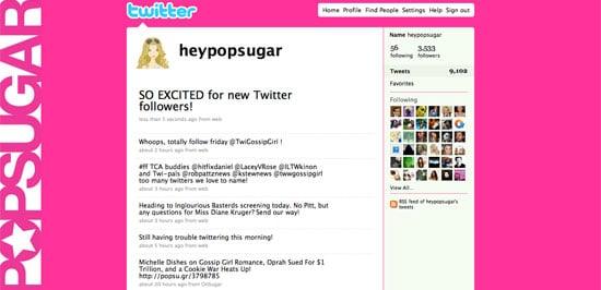 Follow PopSugar on Twitter!