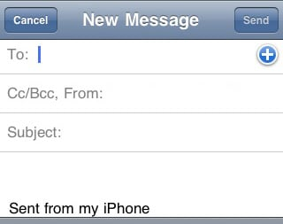 Mobile Email Signatures