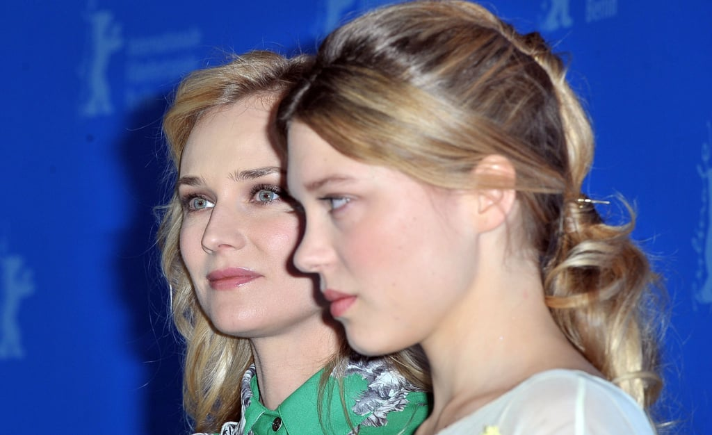 Diane Kruger and Léa Seydoux promoted Farewell, My Queen.