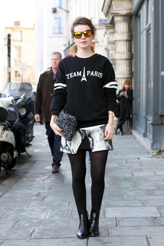 When in Paris . . .