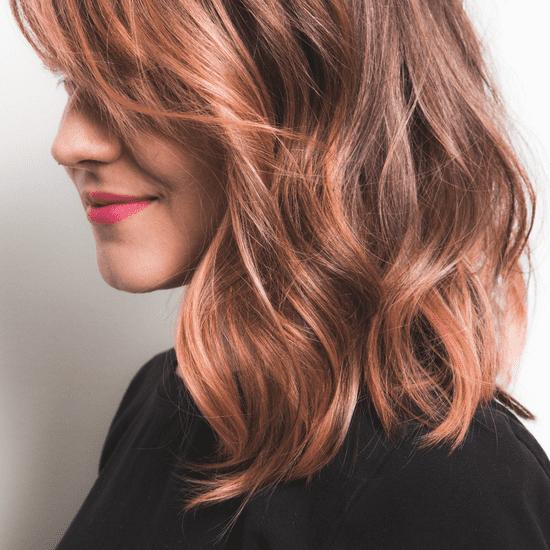 How to Colour Dark Hair Pastel