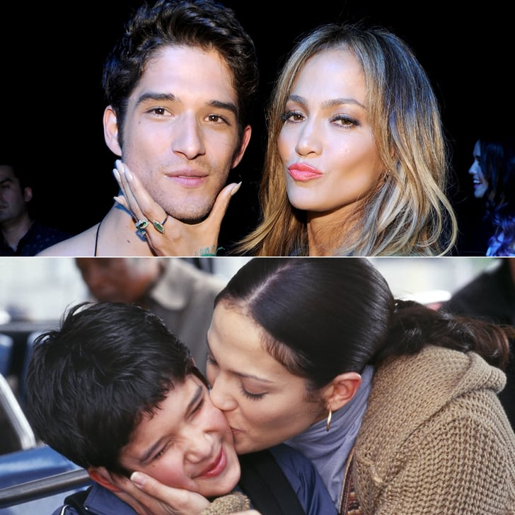 Jennifer Lopez and Tyler Posey Have a Maid in Manhattan Reunion