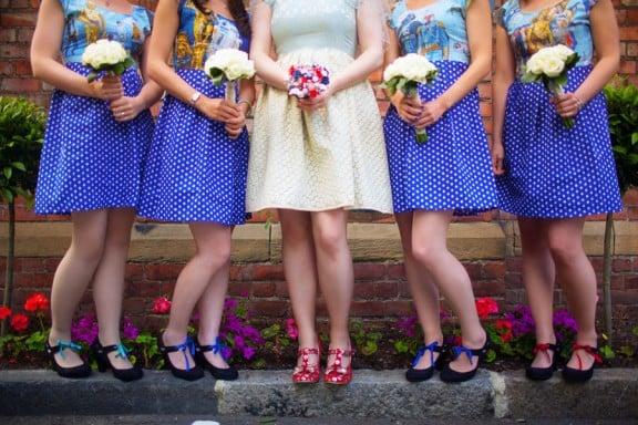 Bridesmaids' Dresses