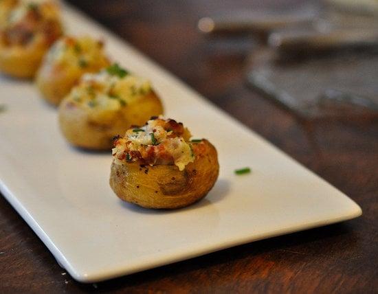A Lightened-Up Potato Bar