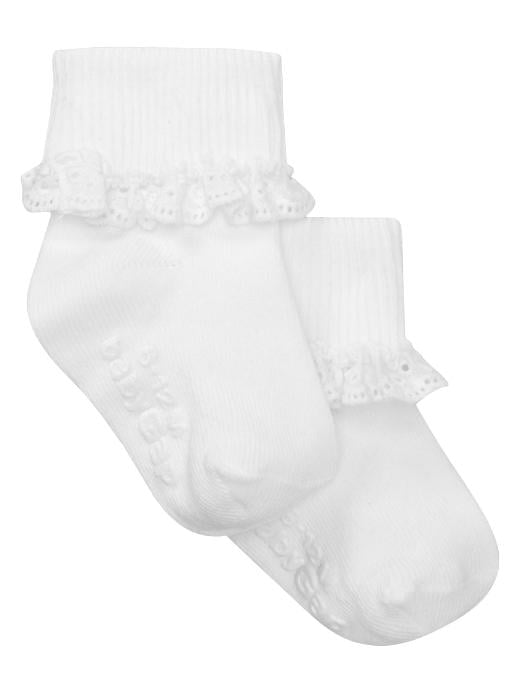 Honor and Haven's Eyelet Socks