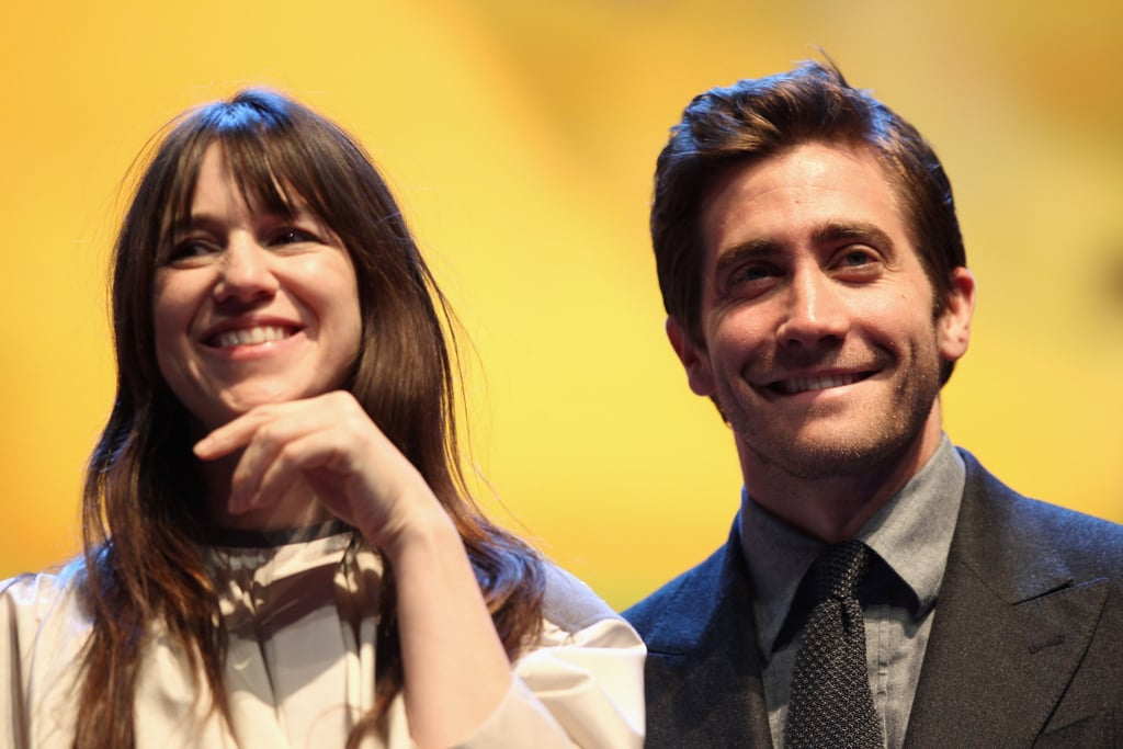 Jake stood next to fellow juror Charlotte Gainsbourg.