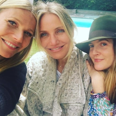 Gwyneth Paltrow Photo With Cameron Diaz and Drew Barrymore