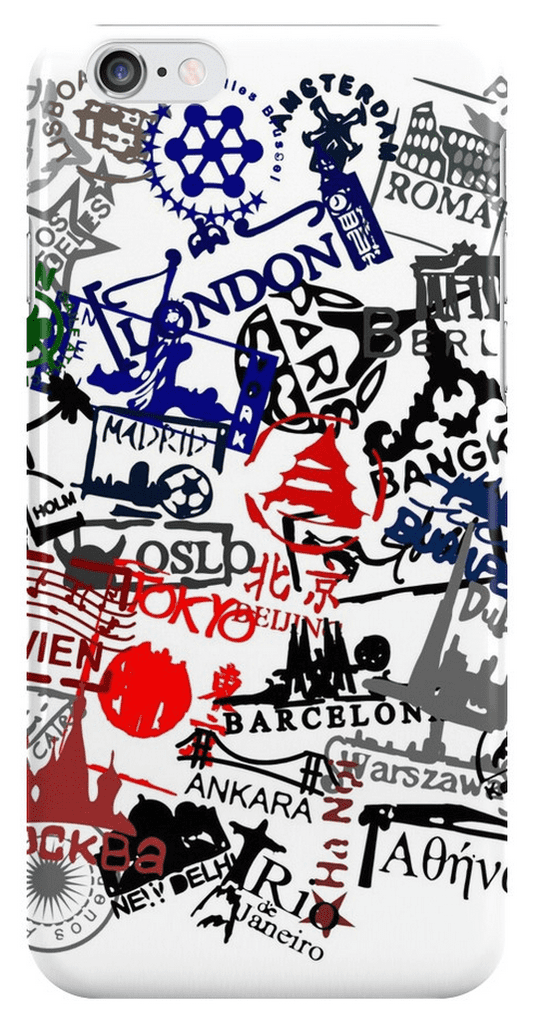 Forget passports. Keep all your travel stamps close with this graphic iPhone case ($25).