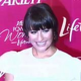 Eva Longoria, Lea Michele at Power of Women Luncheon (Video)