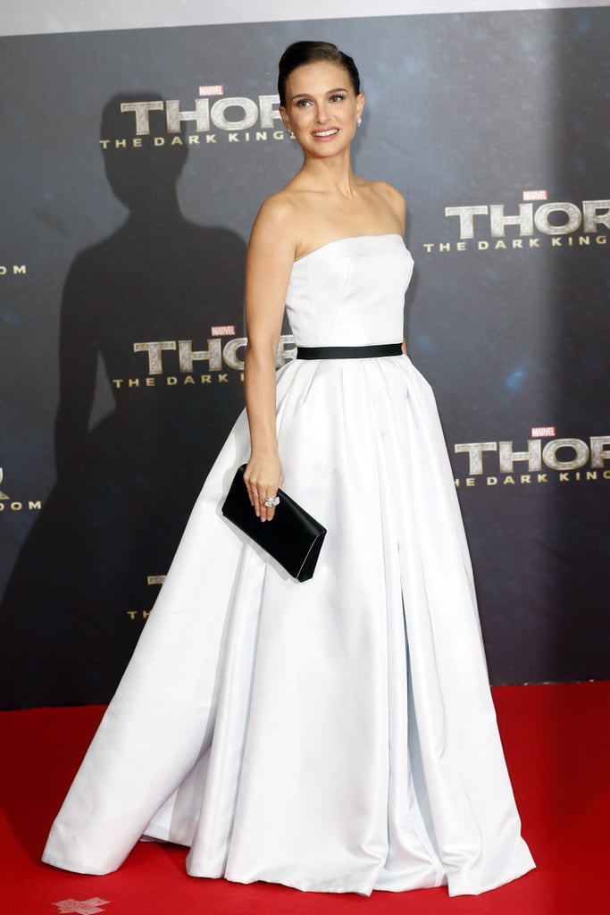 Natalie Portman posed on the red carpet at the event.