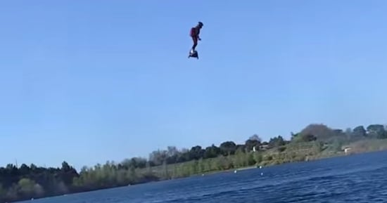 The 'Flyboard Air' Is The Hoverboard You've Been Waiting For. Now Is It Real?