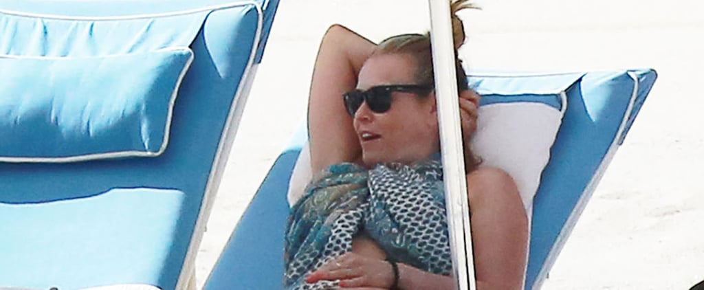 Chelsea Handler Wears Her Underwear on the Beach After Forgetting Her Swimsuit