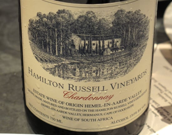 Wine Review: 2008 Hamilton Russell Vineyards Chardonnay
