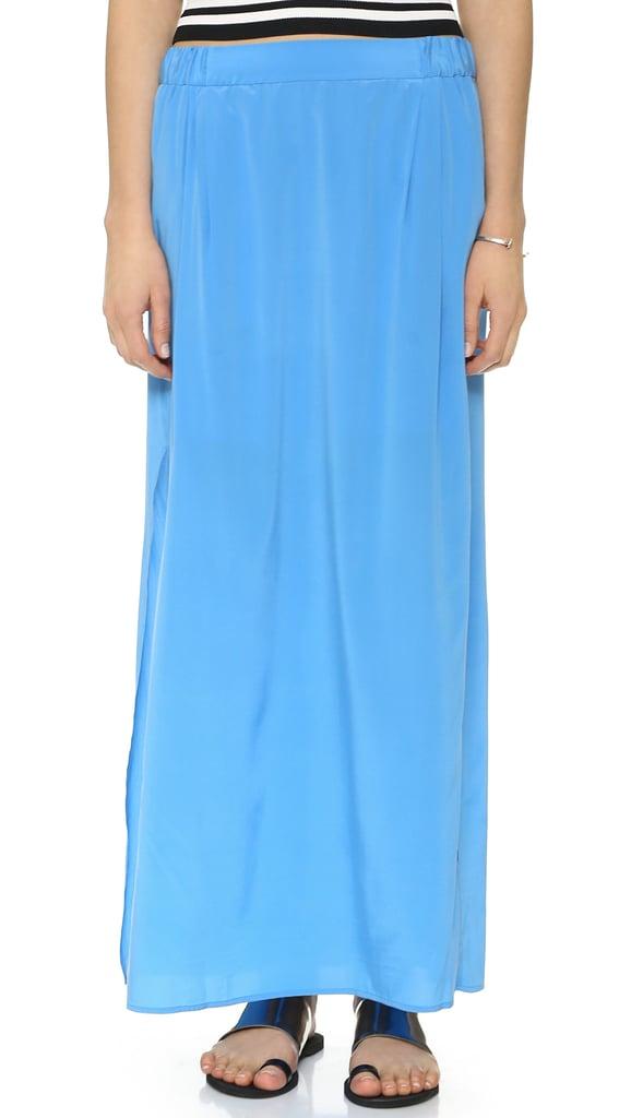 DKNY Pull-On Maxi Skirt