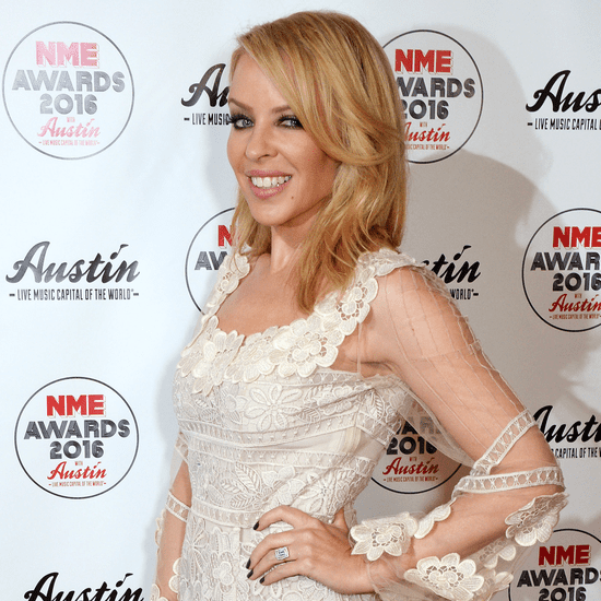 Kylie Minogue Engagement Ring Pictures February 2016