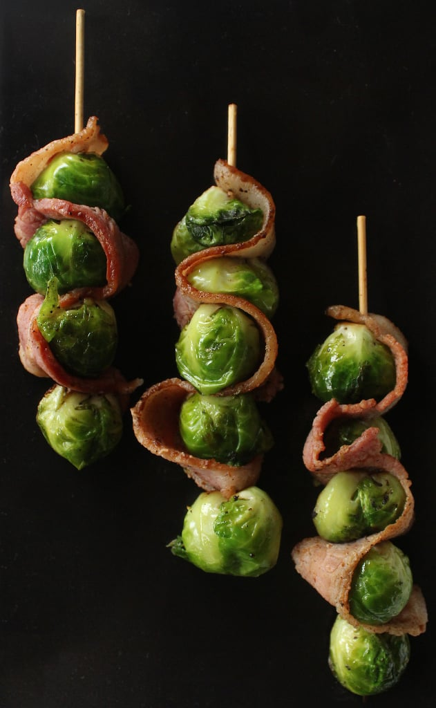 Snack: Bacon and Brussels Skewers