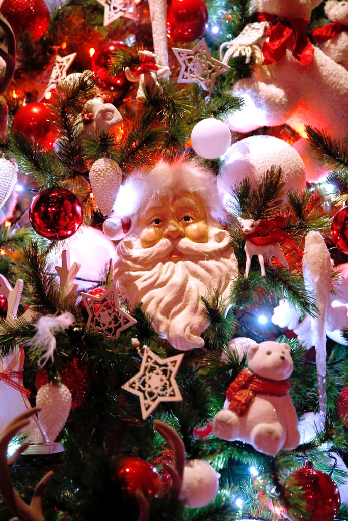 In Paris, the Musée Grévin displayed a Father Christmas decoration.
