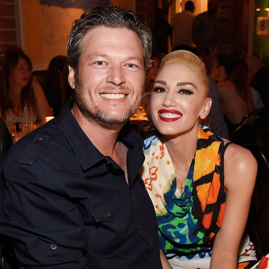 Gwen Stefani and Blake Shelton in the Hamptons August 2016
