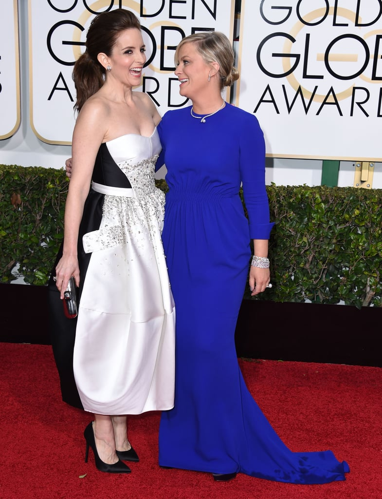 They cracked up together on the Golden Globes red carpet in 2015.