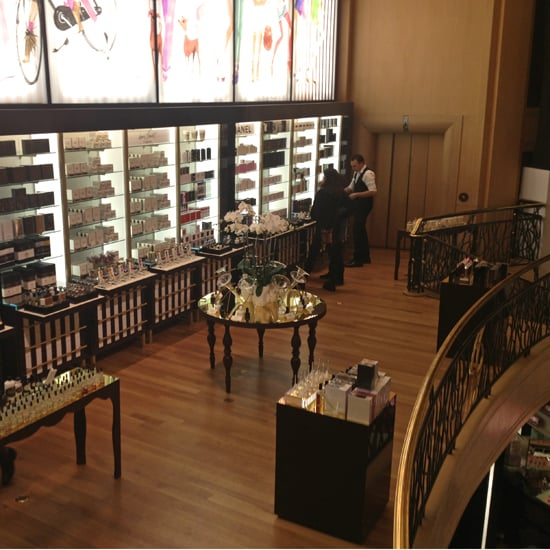 Henri Bendel New Fragrance Floor Pictures