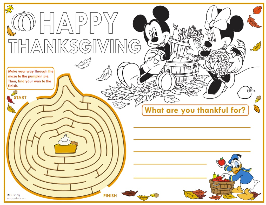 Mickey and Friends Placemat