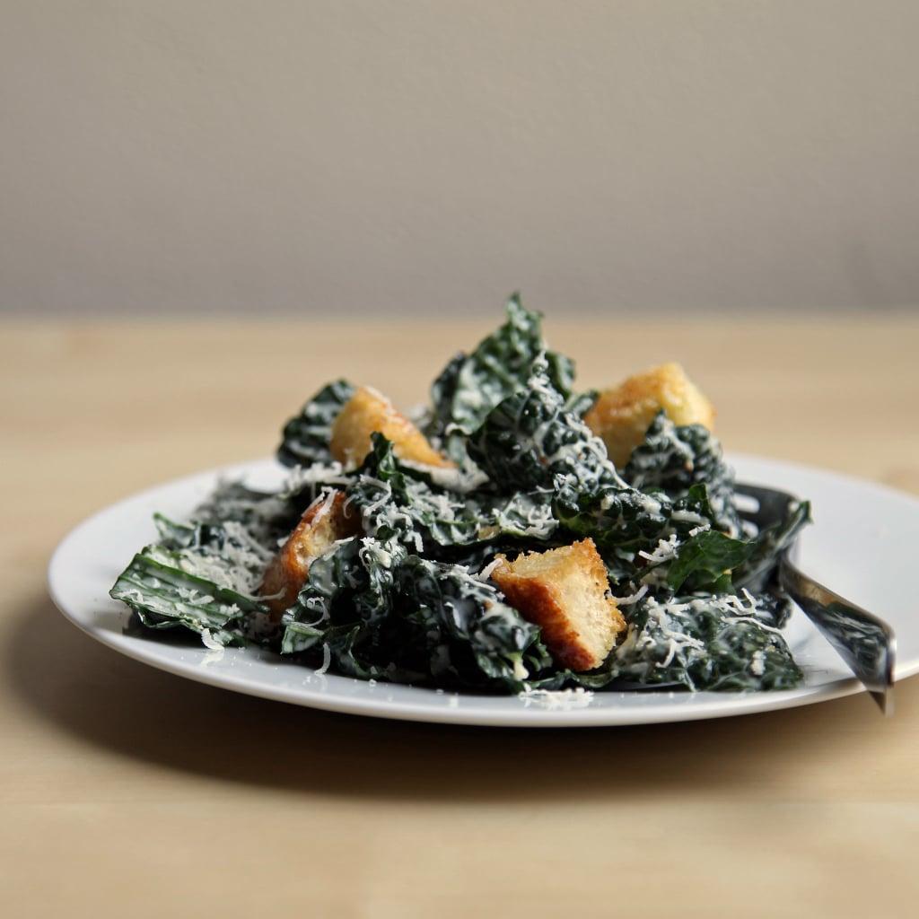 Brown-Bag Transformation: Kale Caesar With Steak